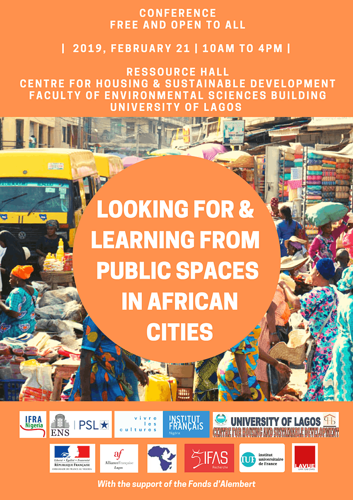 """Conference """"Looking for and Learning from public spaces in African cities"""" image"""