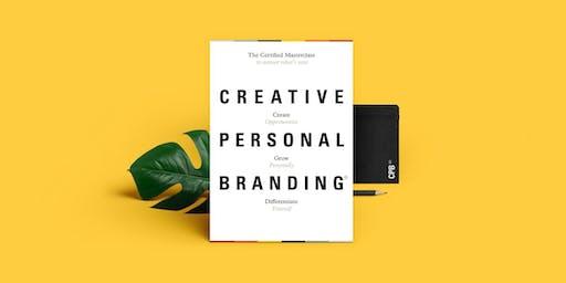 CREATIVE PERSONAL BRANDING Certified Masterclass 2019