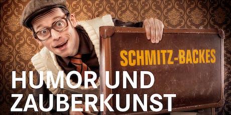 """Comedy-Zauberer Schmitz-Backes """"Humor und Zauberkunst"""" Tickets"""