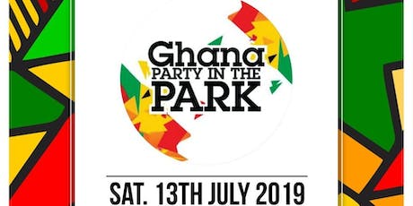 Ghana Party in the Park 2019 tickets