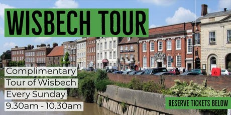 Complimentary Tour of Wisbech tickets