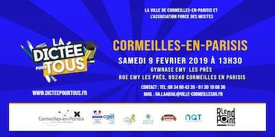 La dictée pour tous à Cormeilles-en-Parisis