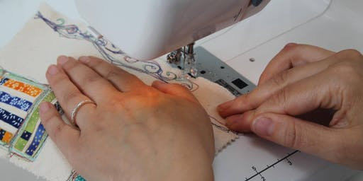 Introduction to Free Machine Embroidery with Sarah Sewell