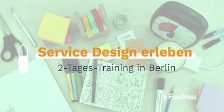 Service Design Training: Prozesse kundenzentriert und innovativ gestalten Tickets