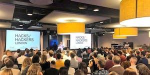 Hacks/Hackers London: July 2019 meetup