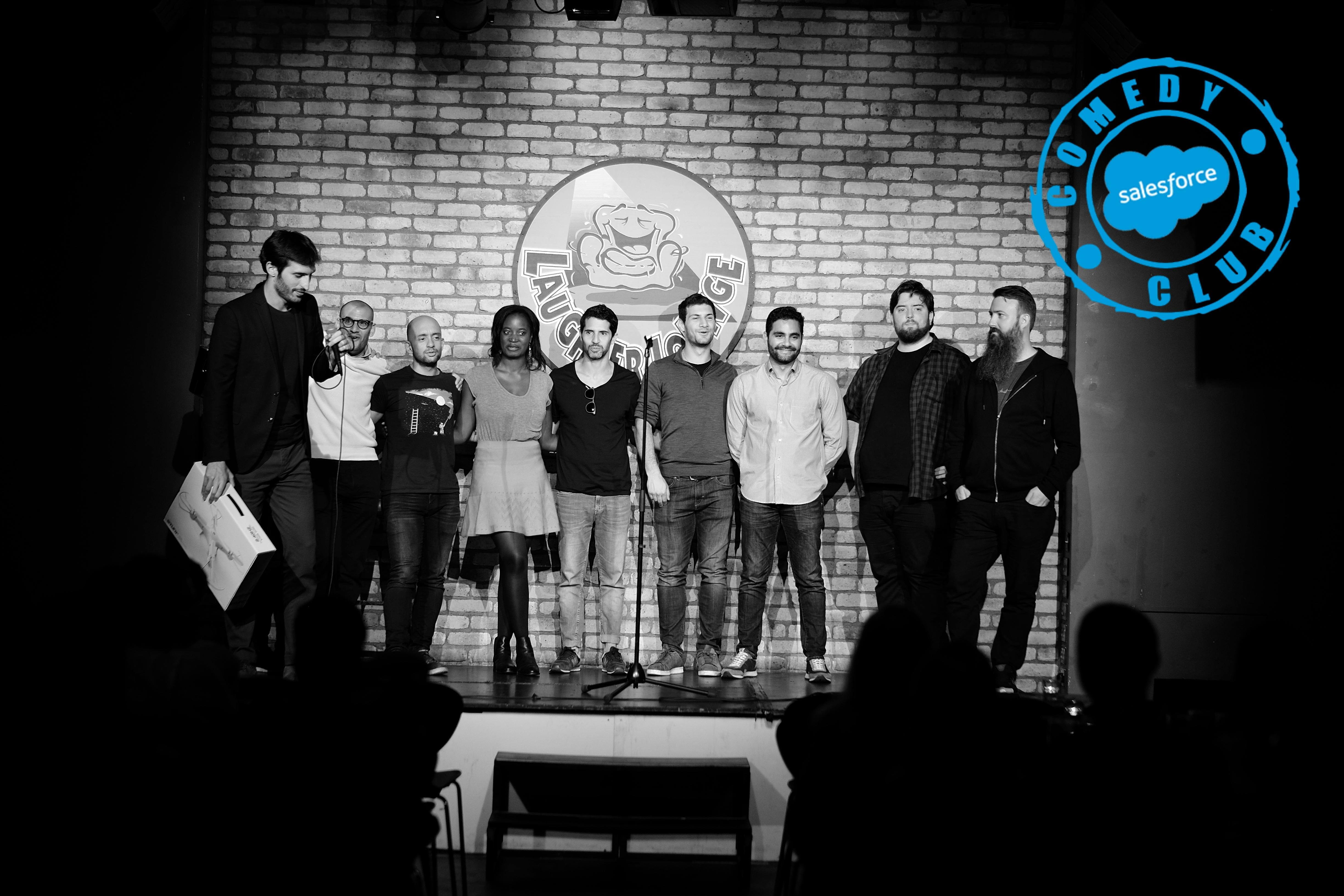 Salesforce Comedy Club Dublin - 2nd Edition