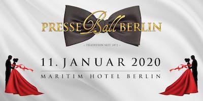 Presseball Berlin ~ seit 1872 ~