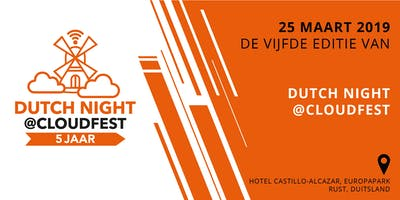 Dutchies Dinner @CloudFest 2019
