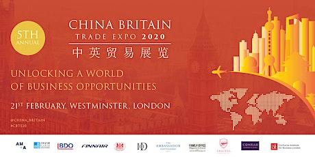China Britain Trade Expo 2020 tickets