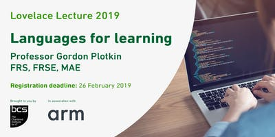 BCS Lovelace Lecture 2019 - Languages for learning