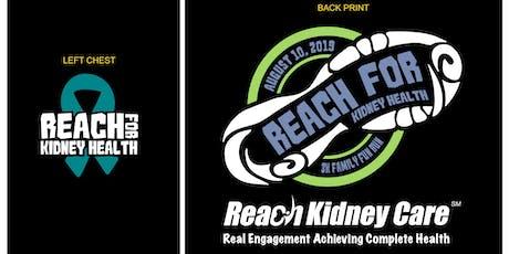 Reach for Kidney Health 3k Family Fun Run tickets