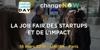 La job fair des startups - 16 mars 2019 - Paris