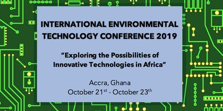 International Environmental Technology Conference 2019 tickets