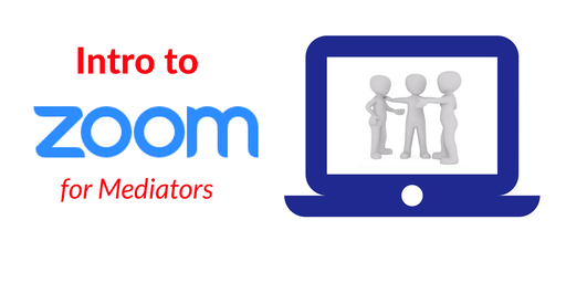 Live  Online Introduction to Zoom for Mediators