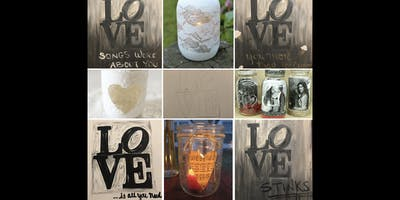 Canvases & Cocktails: LOVE