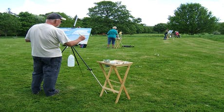 Landscape painting with watercolours tickets