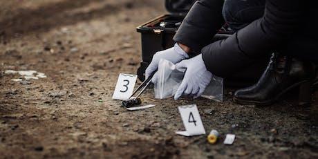 Ferrum College Crime Scene Investigation Camp: July 28 - August 1, 2019 tickets