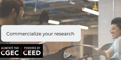 Commercialize your research- Tools and resources for graduate students
