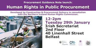 Launch event: Human Rights in Public Procurement