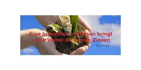 Einfach besser Investieren - Die Geheimnisse erfolgreicher Investoren! Tickets