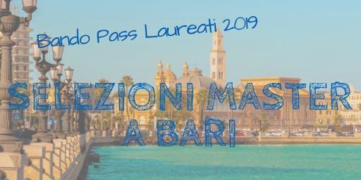 Bando Pass Laureati, selezioni a Roma? No anche Bari!
