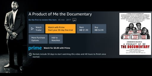 Memphis, TN: A Product of Me Documentary Screening