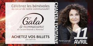 2e Gala de reconnaissance de l'action bénévole a...