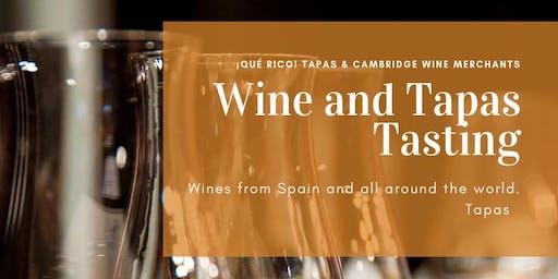 Wine and Tapas Tasting: East Coast