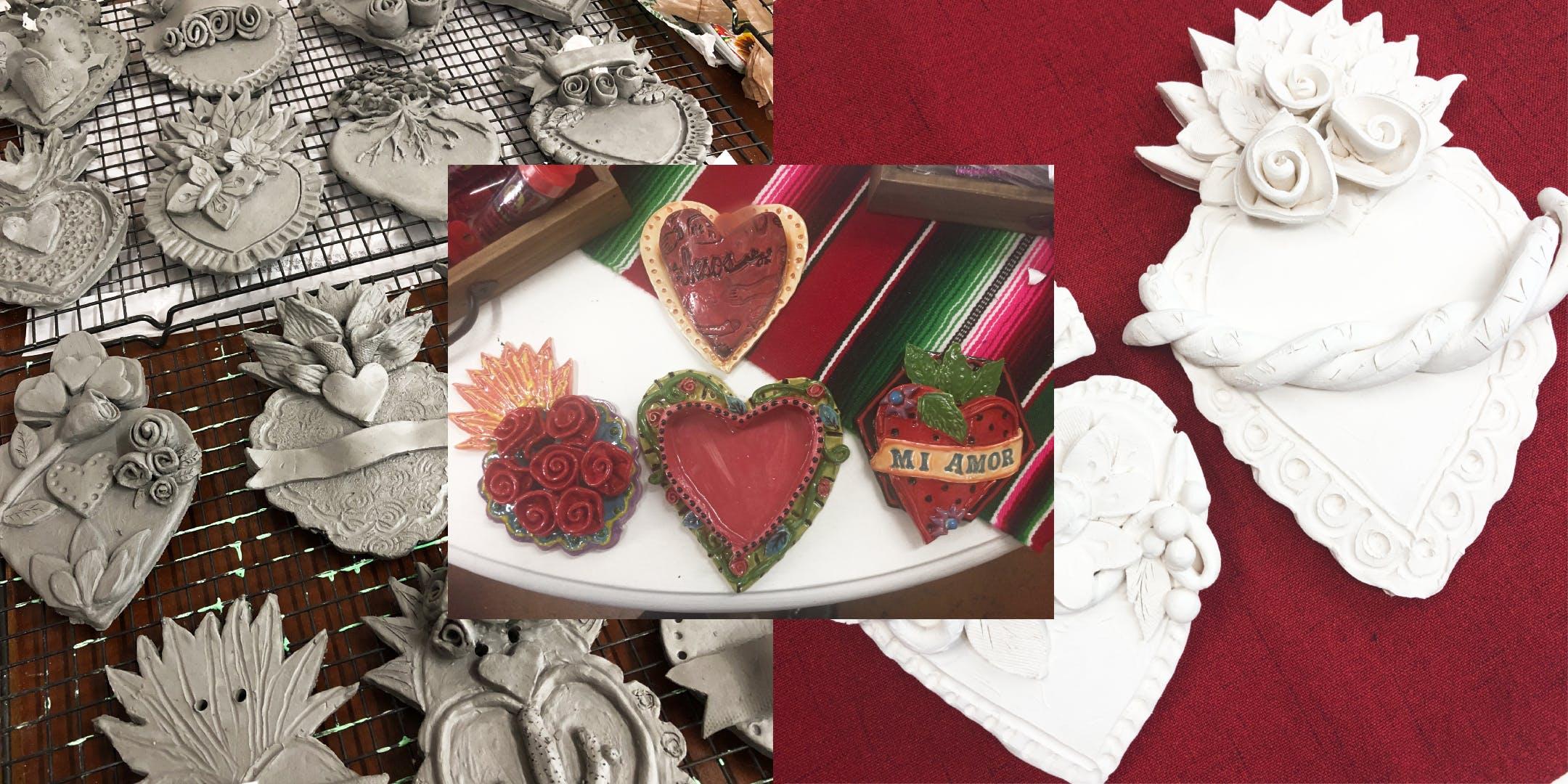 CERAMICS: Sculpted Sacred Heart Workshop