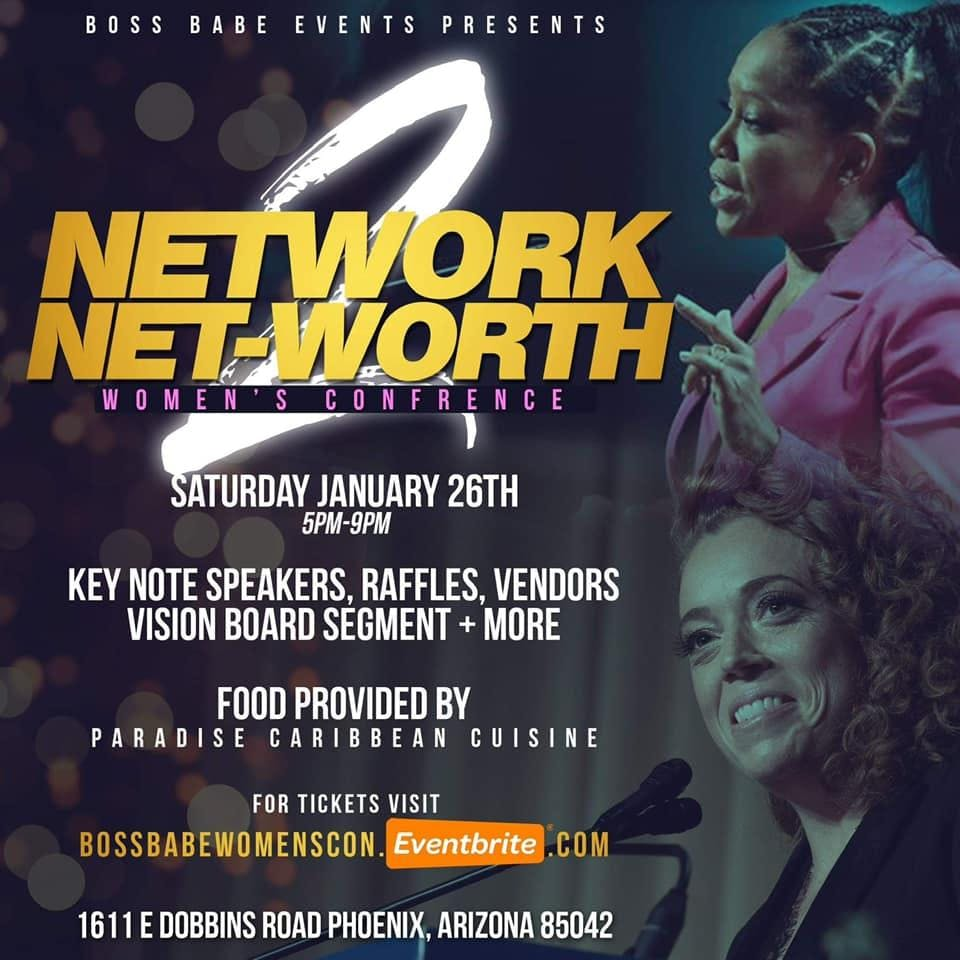 Boss Babe Women's Conference : Network to Net-worth