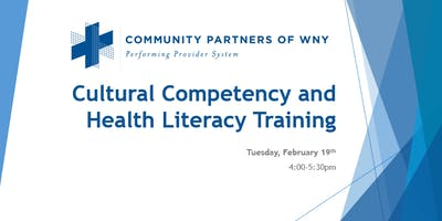 Cultural Competency and Health Literacy Training