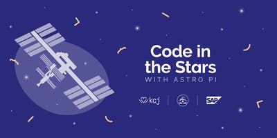KCJ Charlottetown: Code in the Stars with Astro Pi *BRING YOUR OWN LAPTOP* (age 8 - 12)