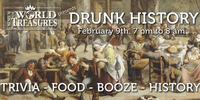 Drunk History Overnight at the Museum