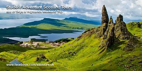 Isle of Skye and Highlands Weekend Trip Sat 14 Sun 15 Mar tickets