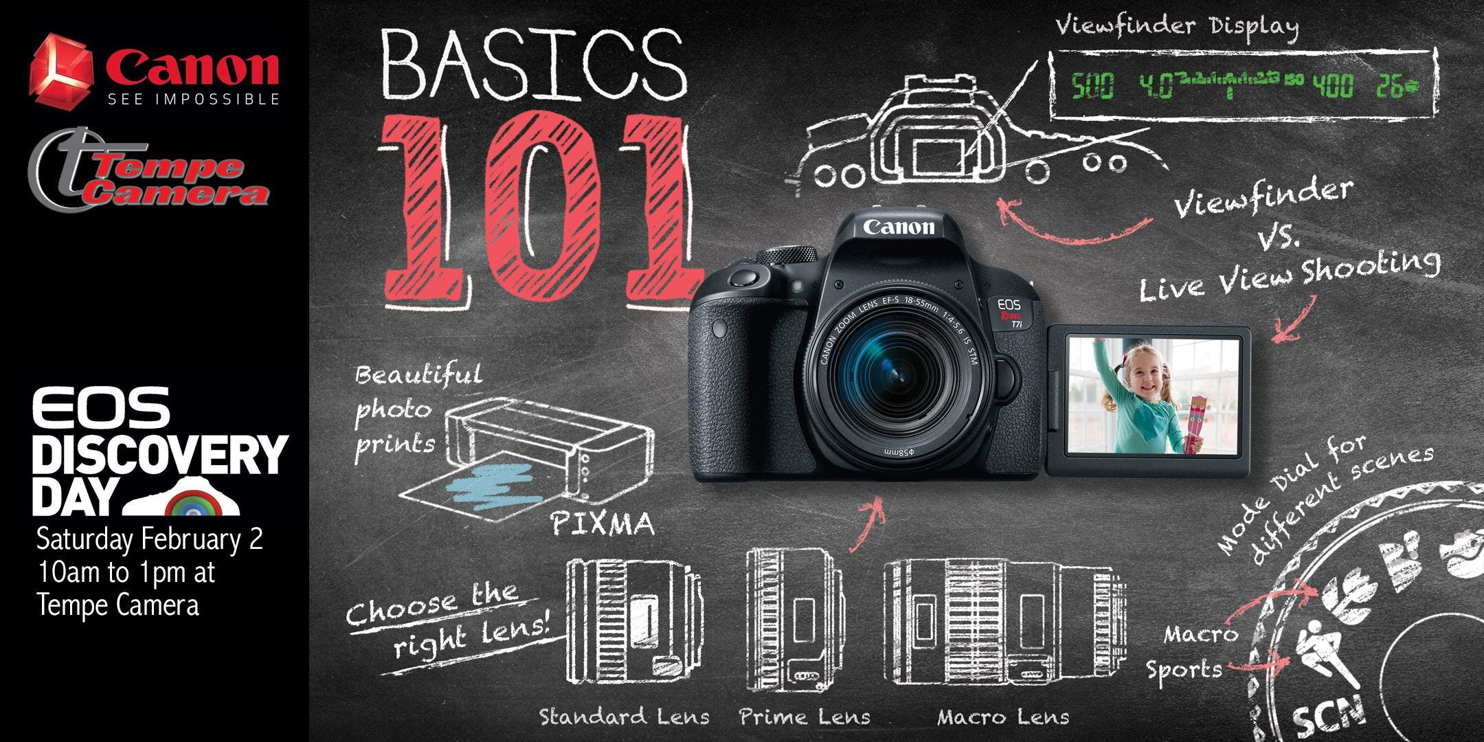 EOS Discovery Day: Essential Functions of your EOS Camera