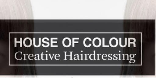 Creative Cutting and Colouring techniques with the House of Colour Creative Team (IHF)
