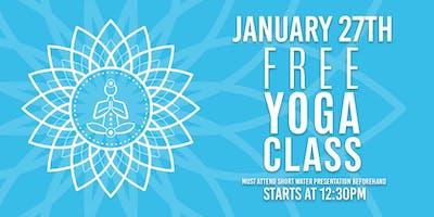 Free Yoga Class & Water Demo