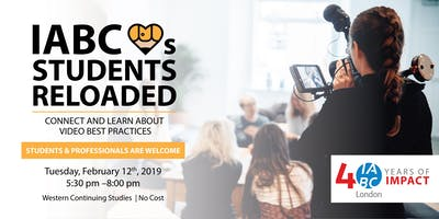 IABC ♥ STUDENTS RELOADED – Connect and Learn about Video Best Practices