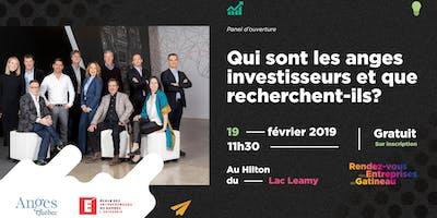 Panel « Qui sont les anges investisseurs et que recherchent-ils? »