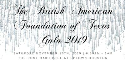 British American Foundation of Texas Gala 2019