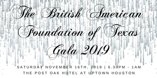 British American Foundation of Texas Gala 2019