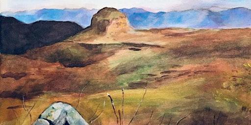 Landscape Painting- Far West Texas