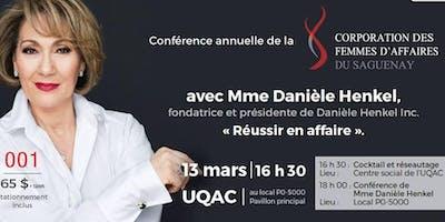 Conférence - Madame Danièle Henkel - Réussir en affaire