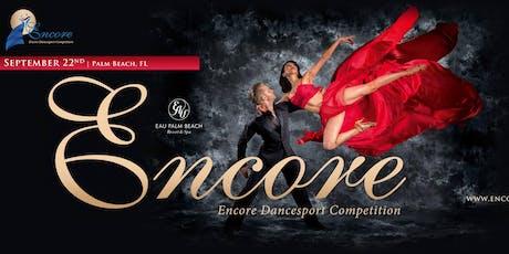 Encore Dancesport Competition2019 tickets