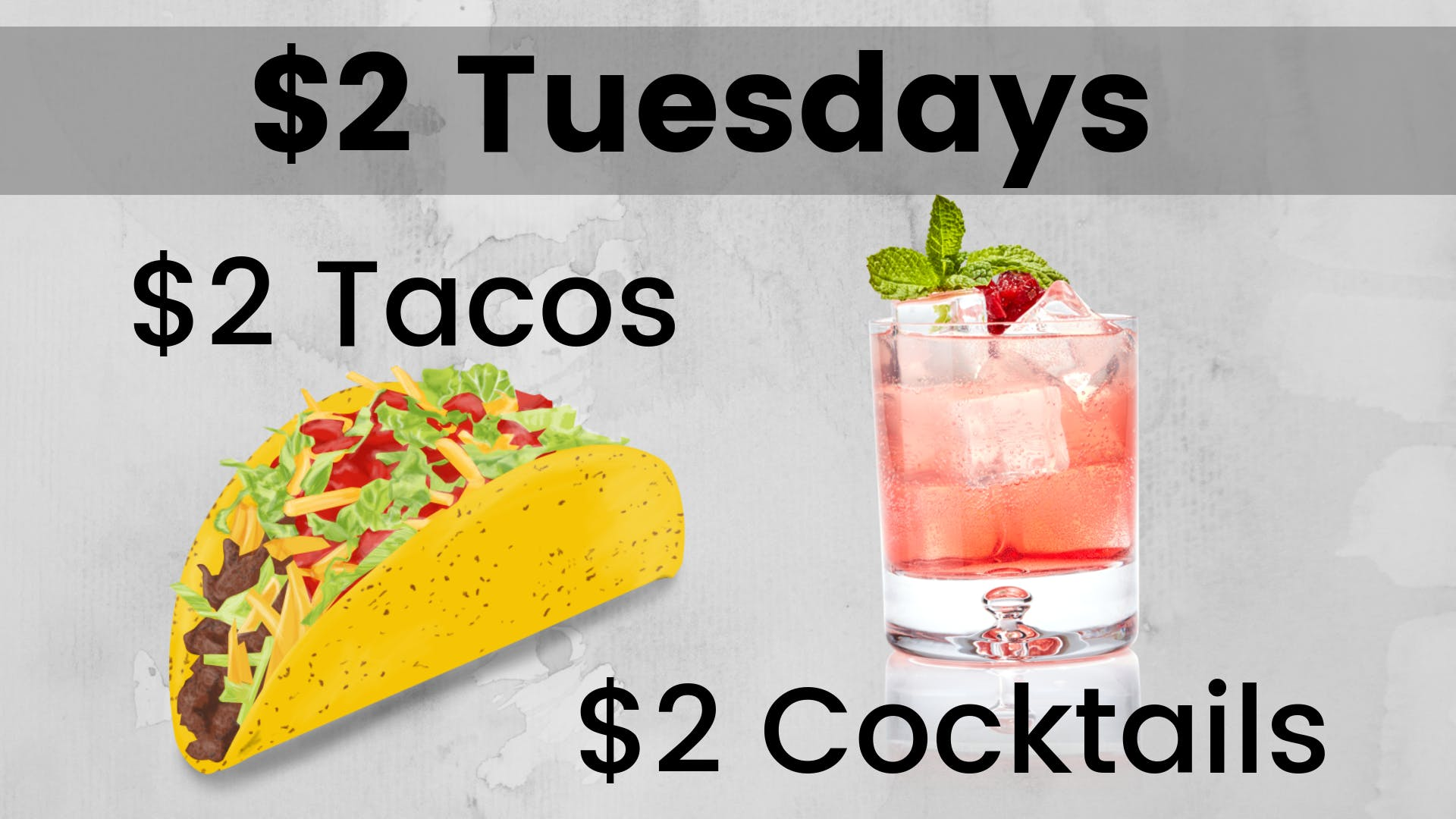 $2 Tuesdays!