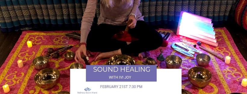 Sound Healing with Ivi Joy