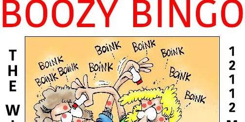 Boozy Bingo @ The Winchester