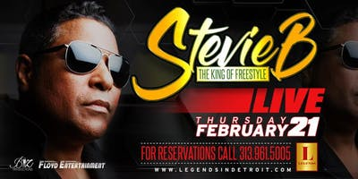 Stevie B, The King of Freestyle performs LIVE at Michigan\