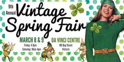 9th Annual Vintage Spring Fair - Go Green!