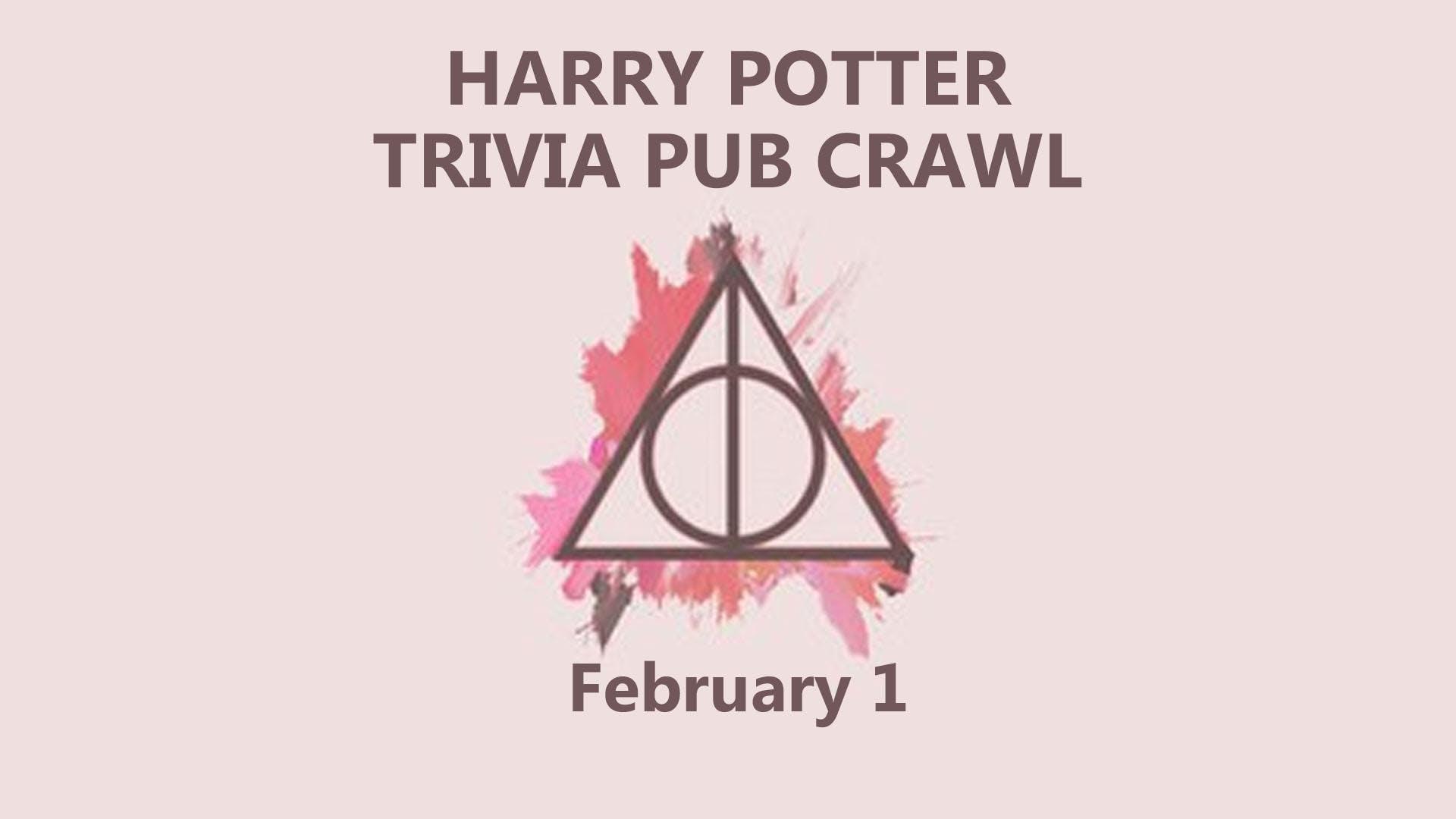 Harry Potter Trivia Pub Crawl
